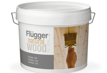 Flugger Natural Wood Panel Lacquer, Transparent Полуматовый лак