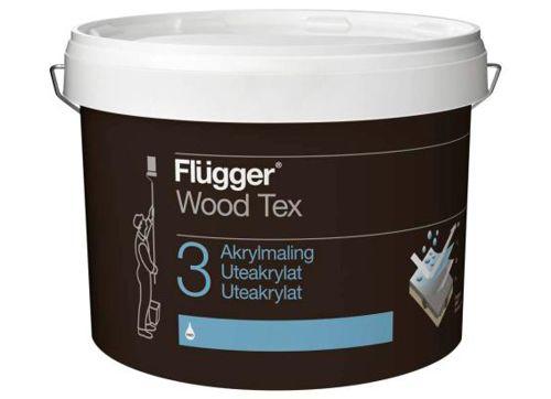 Flügger Wood Tex Akrylmaling (Acrylic Paint)