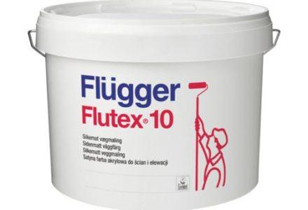 Flugger Flutex 10 Полуматовая износостойкая