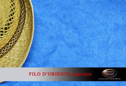 FILO D ORIENTE Spatolato