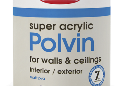 SUPER ACRYLIC POLVIN Усиленная прочность