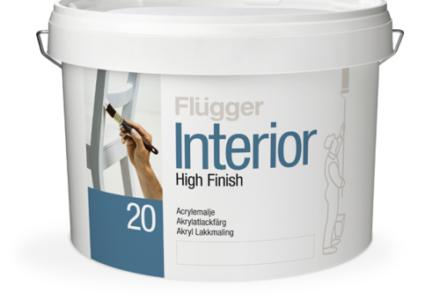 Flugger Interior High Finish 5/20/50/90 Самогрунтующаяся краска