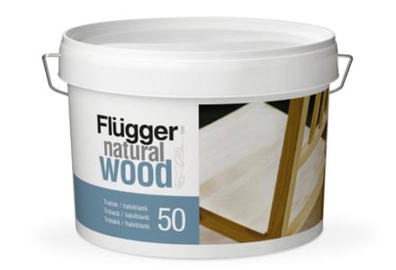 Flugger Natural Wood Lacquer 20/50/70 Лак для дверей, мебели