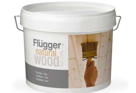 Flugger Natural Wood Panel Lacquer, Transparent Полуматовый лак
