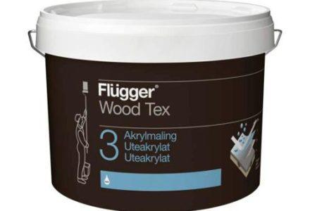 Flugger Wood Tex Akrylmaling Краска для наружных работ по дереву